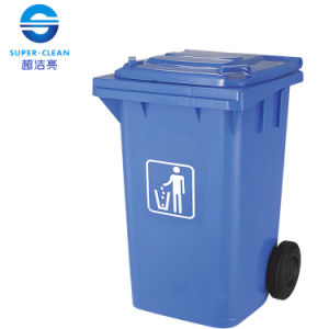 100L / 120L / 240L Side-Wheel Plastic Garbage Bin pictures & photos