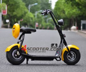 2016 Best Selling Powerful 800W 60V Citycoco 2 Wheels Electric Mobility Scooter pictures & photos