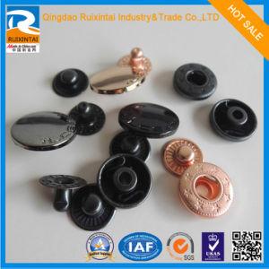 Various Design 4 Part Spring Snap Button/ Metal Bass Snap Buttons Js-147-DC pictures & photos