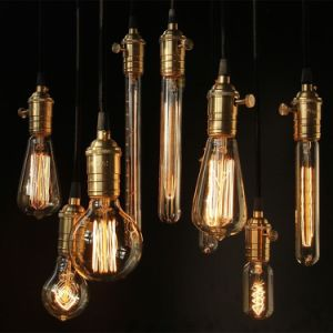 Antique Vintage Light Bulbs A19 C35 C35t G45 G80 G95 G125 40W 60W Edison Bulb pictures & photos