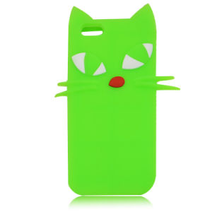 Cats Silicone Case for iPhone 6 5g Soft Cartoon Cover for Huawei P8 P9lite P8lite (XSDW-034) pictures & photos