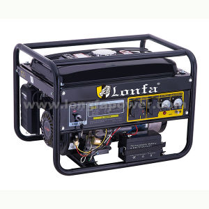 Single Phase 5kw Open Gasoline Generator Direct Sale by Factory pictures & photos