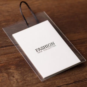 Customized Printing Garment Clothing Kraft Paper Hang Tag pictures & photos