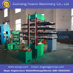 Tyre Recycled Rubber Tile Making Machine/Rubber Tile Vulcanizing Equipment/Playgrond Rubber Tile Molding Press Rubber Tiles Making Machine pictures & photos