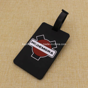 Customize Promotional Item 2D Soft PVC Luggage Tag pictures & photos