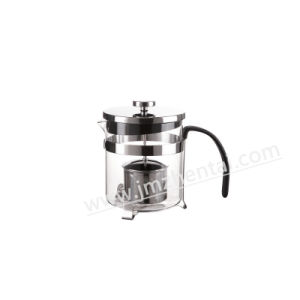Cheap Price Borosilicate Glass Teapot with Strainer pictures & photos