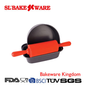 3PCS Baking Sets Carbon Steel Nonstick Bakeware (SL BAKEWARE) pictures & photos