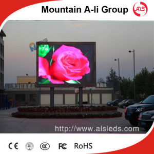 P6 Outdoor Full Color LED TV Wall
