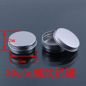 1 Oz/30ml Cream Container/Empty Alumium Screw Jar/Skin Balm, Body Balm Jar pictures & photos