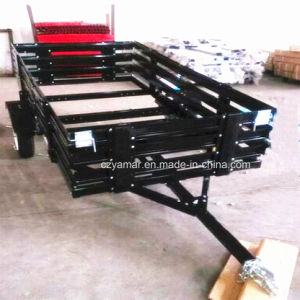 4X8 Utility Folding Trailer with Cage pictures & photos