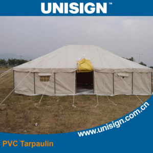 Fire Retardant PVC Tarpaulin for Awnings pictures & photos