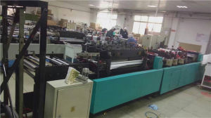 Second Hand Non Woven Handle Bag Making Machine with Good Quality Ultrasonic pictures & photos