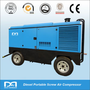 7bar 10m3/Min Portable Diesel Engine Portable Air Compressors pictures & photos