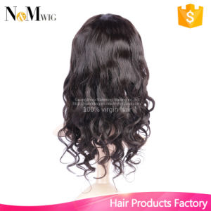 130% Density Human Hair Lace Front Wigs Black Women Glueless Full Lace Wig Short Human Hair Wigs Brazilian Natural Wave Wig pictures & photos