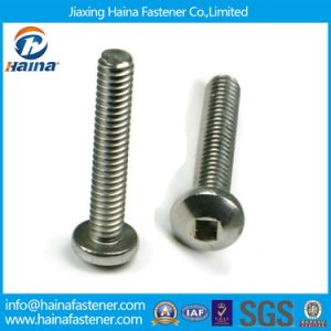 Stainless Steel Pan Head Square Drive Machine Screw Cone Point pictures & photos