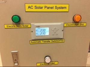 Solar Panel 6A-63A Automatic Change Over Switch ATS for Generators pictures & photos