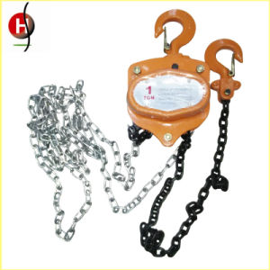 High Quality 5 Ton Chain Pulley Block pictures & photos