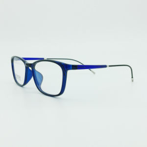 Factory Sell Super Light Half Plastic Steel Fashion New Design Optical Frames pictures & photos