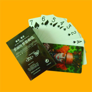 Custom Playing Cards Poker with Glossy Varnished Surface pictures & photos