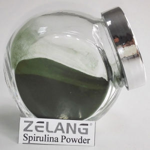 Food Grade Spirulina Powder Natural Food Green Color pictures & photos