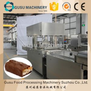 SGS Energy Bar Chocolate Enrobing Machine (TYJ600) pictures & photos