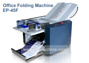 Boway Automatic Office A3 A4 B7 B6 Paper Sheet Folder Creasing and Folding Machine pictures & photos