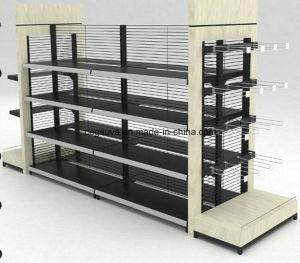 Supermarket Metal Wooden Shelf pictures & photos