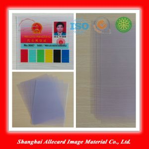 Semi-Transparent Laser PVC Clear Sheet for ID Card Printing pictures & photos