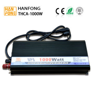 12V to 220V DC AC Solar Power Inverter with Charger (THCA1000) pictures & photos