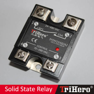 15A AC/AC Single Phase Solid State Relay SSR (SSR-AA15) pictures & photos