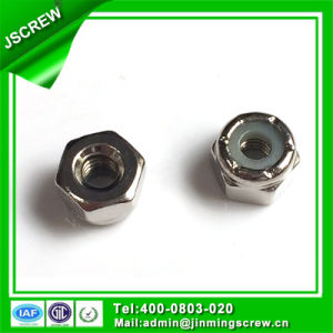 Nickle Plated Self Lock Nuts pictures & photos