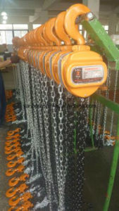 10ton Hand Chain Hoist, Chain Block (HSZ - 10A) pictures & photos