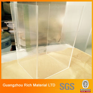 Hard Plastic Sheet Clear Acrylic Sheet for Displays pictures & photos