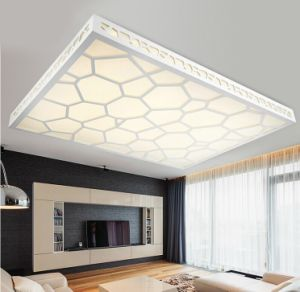 Tri-Color Dimming Water Cube LED Ceiling Lamp pictures & photos