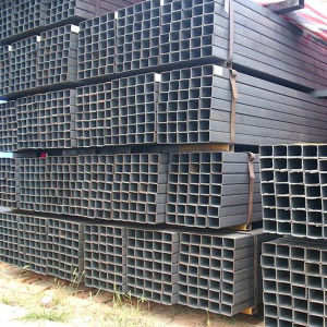 Q195 Welded Black Square Tube pictures & photos