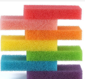 Colorful Filter Sponge Foam, Cleaning Sponge pictures & photos