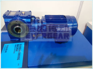 S Series Cast Iron Foot Mounted Worm Gearbox pictures & photos