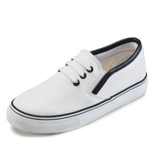 Good Quality Men Rubber Sole Canvas Shoe