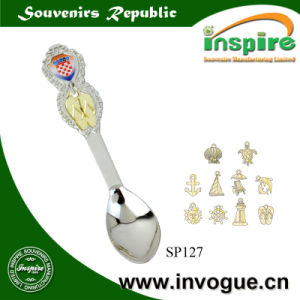 Croatia Customized Metal Souvenir Spoon for Gift pictures & photos