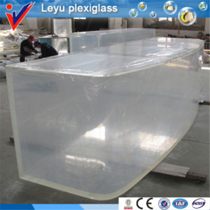 Arched Acrylic Glass for Fish Tank pictures & photos