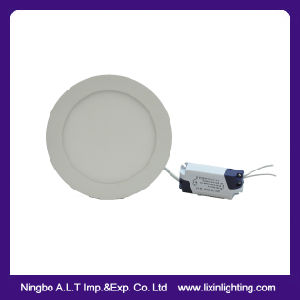 Slim Recessed LED Panel Downlight in White Color 3W~24W pictures & photos