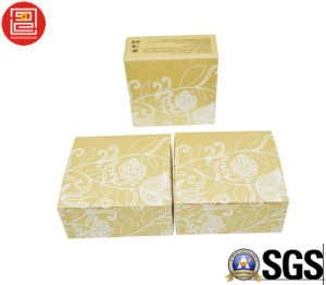 Recyle Cheap Customized Logo Print Brown Kraft Paper Soap Bar Box