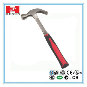 American Type Rip Claw Hammer with Steel Tubular Handle pictures & photos