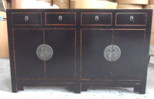 Chinese Antique Reproduction Wooden Buffet Lwc285 pictures & photos