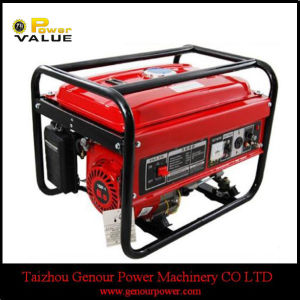 Portable Small Gasoline Generator Set 2kw Single Phase pictures & photos