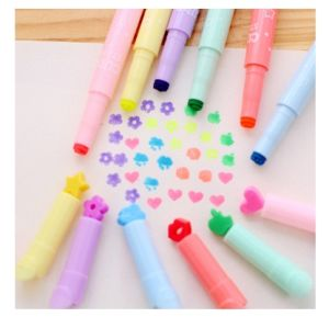 Creative Multi-Highlighter Maker Pen, Classic Highlighter Pen Brilliant Color