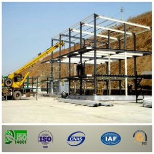 Large Space Steel Frame Market Buildings pictures & photos