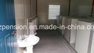 Peison Convenient Republic Mobile Prefabricated/Prefab Toilet/Container House for Hot Sale pictures & photos