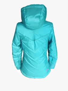 Women New Collection Slim Hooded Padding Jacket pictures & photos
