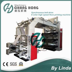Flexo Printing Press Machine 6 Colors 150m/Min pictures & photos